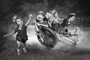 IUP Gold Medal - Arnaldo Paulo Che (Hong Kong) <br /> Happy Kids