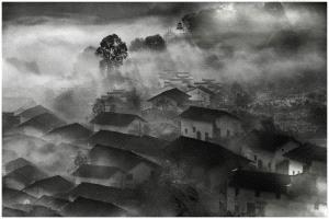SPP HM Ribbons - Thomas Lang (USA) <br /> Shi Village At Dawn