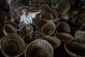 PSA HM Ribbons - Soon Seng Leong (Malaysia) <br /> Woven Rattan Basket 89